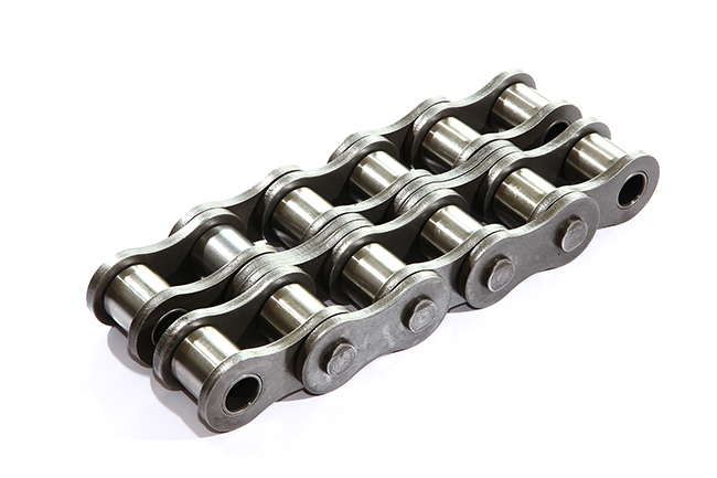 Short pitch transmission precision roller chains
